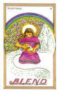 Temperance Tarot card in Medicine Woman Tarot deck