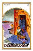 The Devil Tarot card in Medicine Woman deck