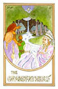The Star Tarot card in Medicine Woman Tarot deck