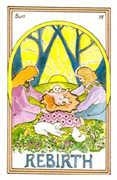 The Sun Tarot card in Medicine Woman Tarot deck