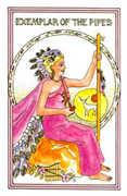 Exemplar of Pipes Tarot card in Medicine Woman deck