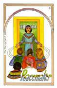The Hierophant Tarot card in Medicine Woman Tarot deck