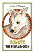 Totem of Arrows Tarot card in Medicine Woman Tarot deck