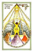 Queen of Arrows Tarot card in Medicine Woman deck