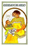 Exemplar of Arrows Tarot card in Medicine Woman deck