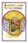 Queen of Stones Tarot card in Medicine Woman deck
