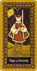 medieval-cat - Page of Swords