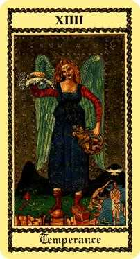 The Guide Tarot Card - Medieval Scapini Tarot Deck