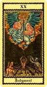 Judgement Tarot card in Medieval Scapini Tarot deck