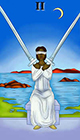 melanated - Two of Swords