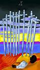 melanated - Ten of Swords