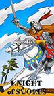 melanated - Knight of Swords