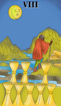 melanated - Eight of Cups