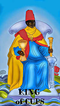 melanated - King of Cups