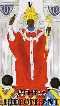 melanated - The Hierophant