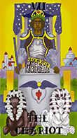 The Chariot Tarot card in Melanated Classic Tarot Tarot deck