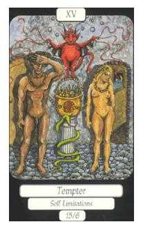 Temptation Tarot Card - Merry Day Tarot Deck