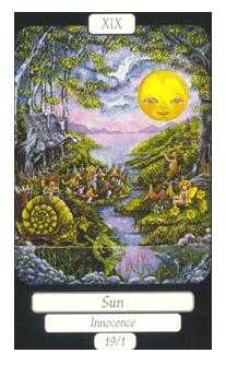 The Sun Tarot Card - Merry Day Tarot Deck