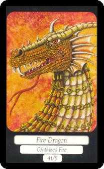 Ace of Fire Tarot Card - Merry Day Tarot Deck