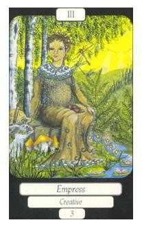 The Empress Tarot Card - Merry Day Tarot Deck