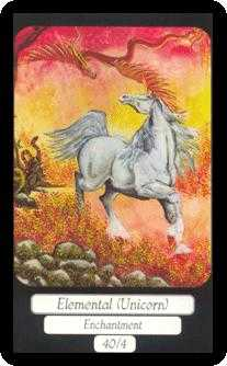 Unicorn Tarot Card - Merry Day Tarot Deck