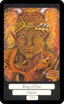 Father of Fire Tarot Card - Merry Day Tarot Deck