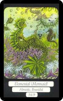 Slave of Cups Tarot Card - Merry Day Tarot Deck