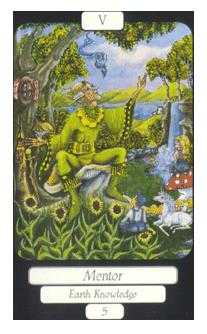The High Priest Tarot Card - Merry Day Tarot Deck