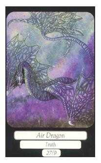 Ace of Wind Tarot Card - Merry Day Tarot Deck