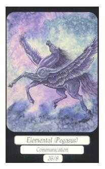 Page of Rainbows Tarot Card - Merry Day Tarot Deck