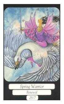 Spring Warrior Tarot Card - Merry Day Tarot Deck