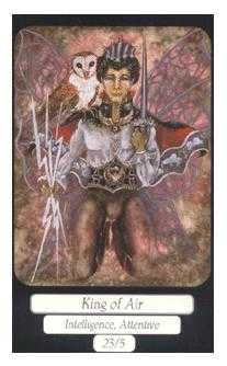 King of Spades Tarot Card - Merry Day Tarot Deck