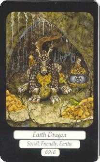 Ace of Stones Tarot Card - Merry Day Tarot Deck