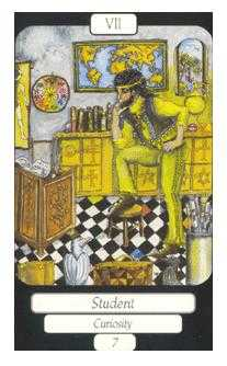 The Chariot Tarot Card - Merry Day Tarot Deck