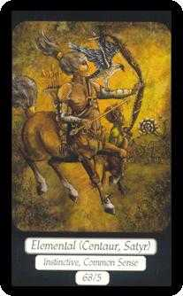Page of Buffalo Tarot Card - Merry Day Tarot Deck