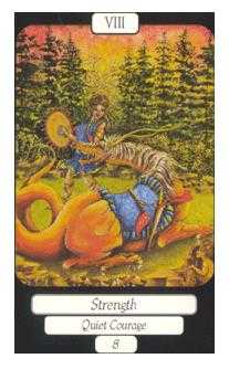 Strength Tarot Card - Merry Day Tarot Deck