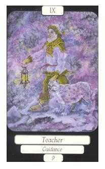 The Hermit Tarot Card - Merry Day Tarot Deck