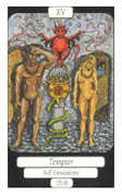 The Devil Tarot card in Merry Day deck