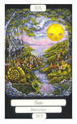 The Sun Tarot card in Merry Day deck
