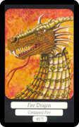 Ace of Wands Tarot card in Merry Day Tarot deck
