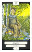 The Empress Tarot card in Merry Day Tarot deck