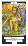 The Emperor Tarot card in Merry Day Tarot deck