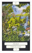 The Hierophant Tarot card in Merry Day Tarot deck