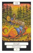 Strength Tarot card in Merry Day Tarot deck