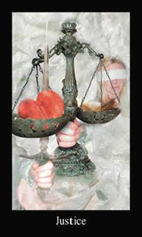 Justice Tarot Card - Modern Medieval Tarot Deck