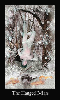 The Hanged Man Tarot Card - Modern Medieval Tarot Deck