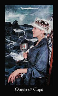Queen of Cauldrons Tarot Card - Modern Medieval Tarot Deck