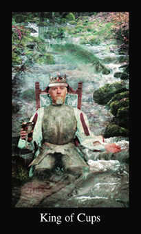 King of Water Tarot Card - Modern Medieval Tarot Deck