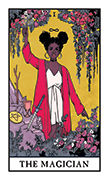 The Magician Tarot card in Modern Witch deck