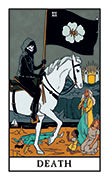 Death Tarot card in Modern Witch deck